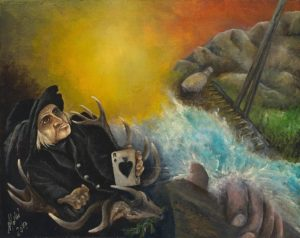 Visionäre Kunst u. Mythorealismus: Online Galerie für visionäre Kunst im Stil des Mythorealismus einer Deutungsweise der Wirklichkeit und ihrer Hintergründe