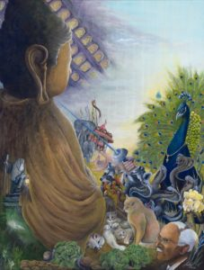 Armin Gallerach - Online Galerie für visionäre Kunst im Stil des Mythorealismus einer Deutungsweise der Wirklichkeit und ihrer Hintergründe