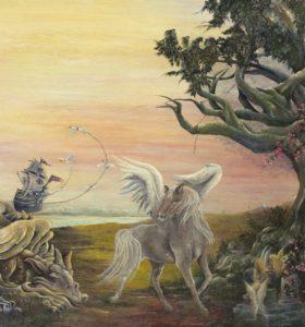 Der Mythorealismus verknüpft Erzählungen der Mythen mit Wirklichkeiten aus verschiedenen Bewusstseinsebenen