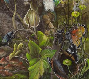 Der Mythorealismus erhebt den Anspruch auf eine wirklichkeitsnahe Abbildung eines Themas bzw. Motivs